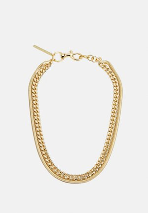 LAYERED CHAIN NECKLACE - Necklace - gold-coloured