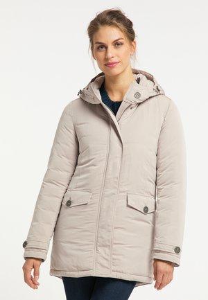 Winter jacket - steingrau