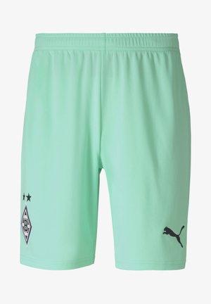 PUMA BORUSSIA MÖNCHENGLADBACH THIRD REPLICA - Sports shorts - green glimmer-puma black