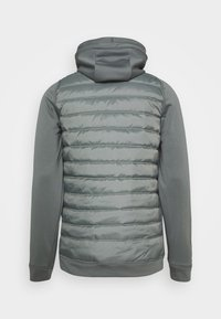 Nike Performance - Giacca sportiva - smoke grey/smoke grey/black - 8