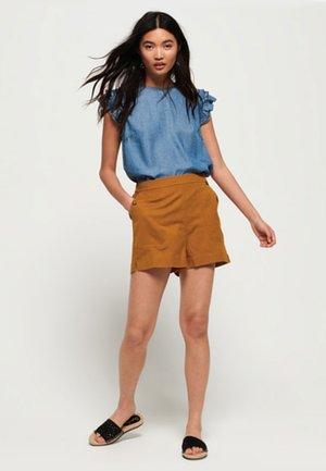 JUPE-CULOTTE MILA - Shorts - ocher