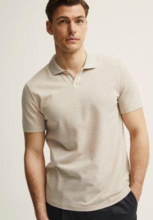VINCENT  - Polo shirt - lt beige mel