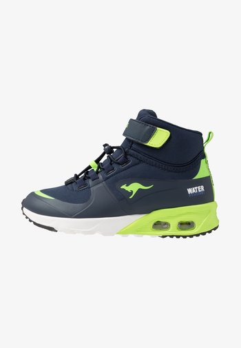 X-HYDRO - High-top trainers - dark navy/lime
