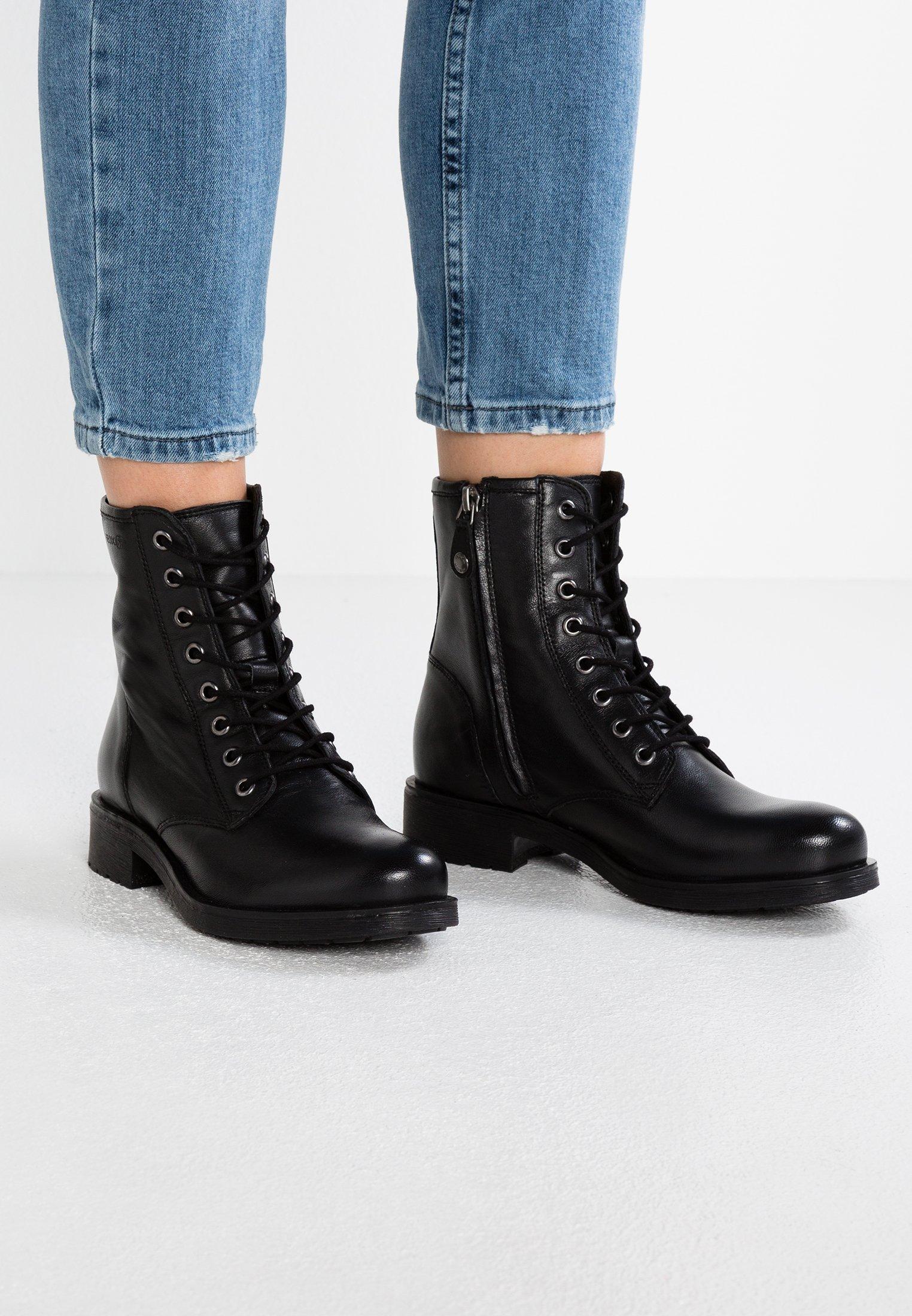 El diseño Abandonar Docenas  Geox RAWELLE - Lace-up ankle boots - black - Zalando.co.uk
