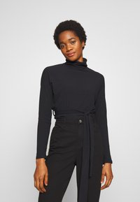 New Look - ROLL NECK - Strikkegenser - black - 0