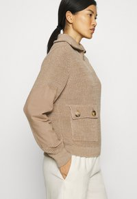 Another-Label - DARA - Pullover - sand melee - 3