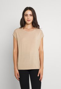 Vero Moda - T-shirt - bas - beige - 0