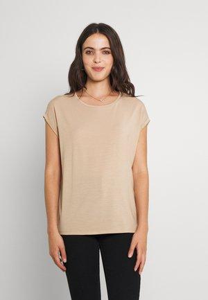 VMAVA PLAIN  - T-shirt basic - beige