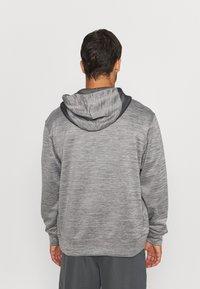 Nike Performance - TEAM USA SPOTLIGHT HOODIE - Sweatshirt - dark grey heather/dark grey - 2