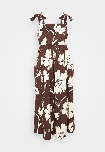 TIE SHOULDER BEACH DRESS - Maxi šaty - daisy