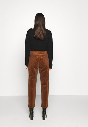 PEDAL PUSHER - Trousers - antique wood