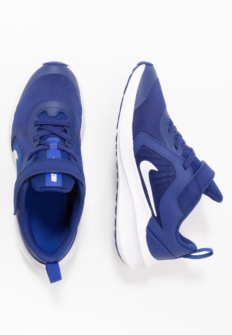 Nike Performance - DOWNSHIFTER 10 - Hardloopschoenen neutraal - deep royal blue/white/hyper blue