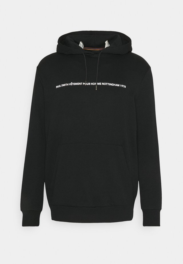 GENTS PAULS FIRST SHOP PRINT HOODY - Sweatshirt - black
