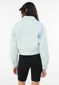 Bershka - Light jacket - green - 2