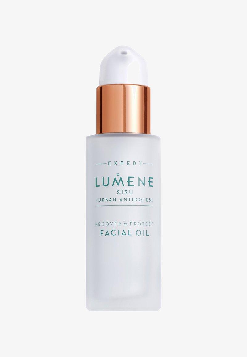 Lumene - NORDIC DETOX [SISU]RECOVER & PROTECT FACIAL OIL 30ML - Olejek do twarzy - -