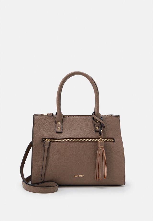 NETTY - Handbag - taupe