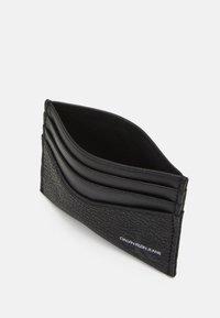 Calvin Klein Jeans - CARDCASE - Plånbok - black - 2