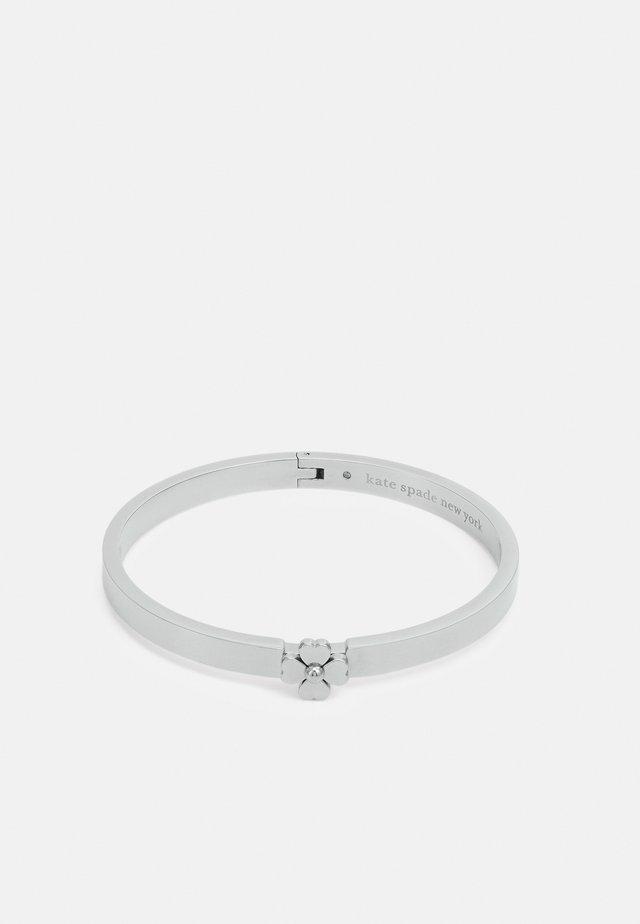 THIN HINGED BANGLE - Bracelet - silver-coloured