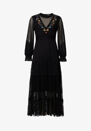 PEKIN - Maxikleid - black