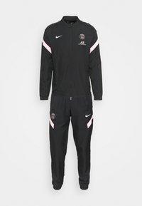 Nike Performance - PARIS ST. GERMAIN AW - Tracksuit - black/arctic punch - 6