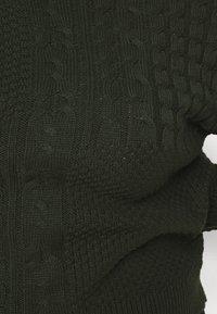 Pieces Curve - PCSUMMER ROLL NECK - Svetr - duffel bag - 5