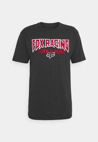 Fox Racing - ROADIE PREMIUM TEE - T-Shirt print - black - 0