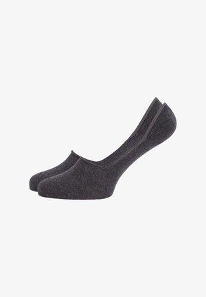 2 PACK - Trainer socks - anthracite