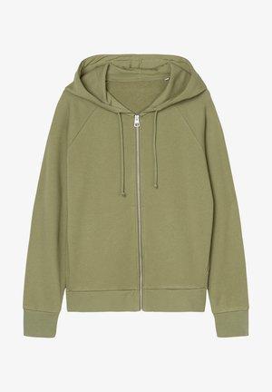 Zip-up sweatshirt - dried sage