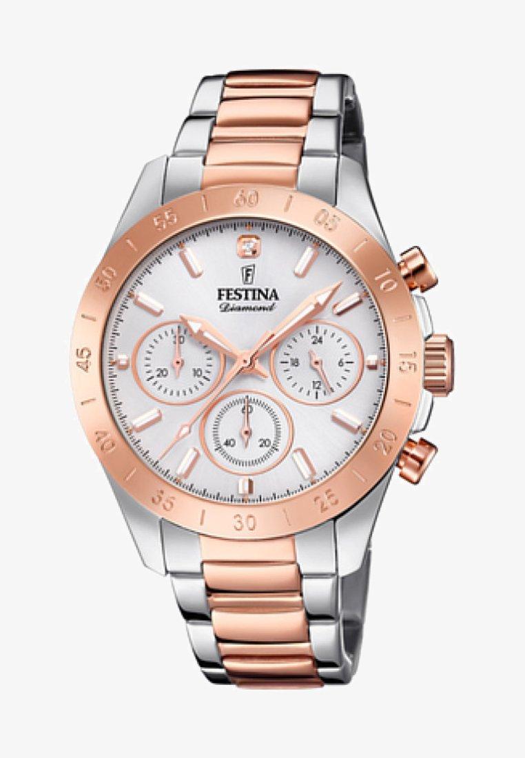 Festina - Chronograph watch - silver