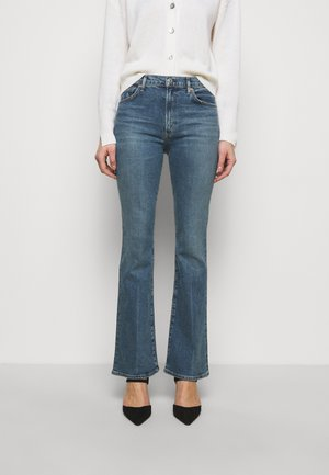 LILAH - Jeansy Bootcut - light blue