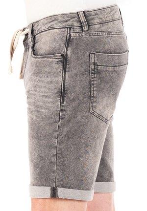 PAUL - Denim shorts - grey denim