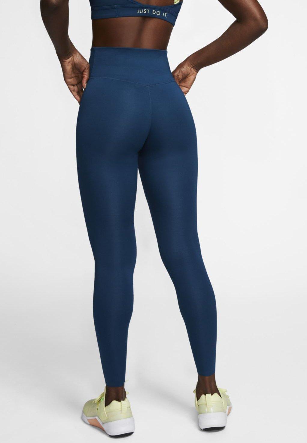Nike Performance ONE LUXE - Leggings - valerian blue DuisV