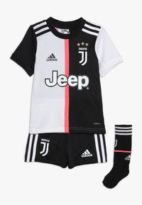 adidas Performance - JUVENTUS MINI SET - Sports shorts - black/white - 0