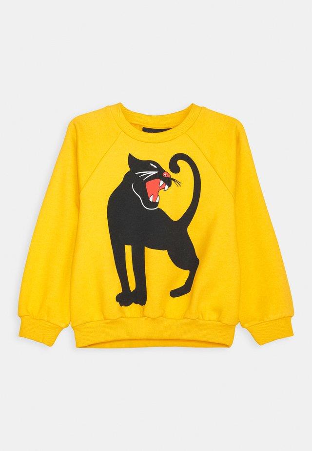 PANTHER UNISEX - Sweatshirt - yellow