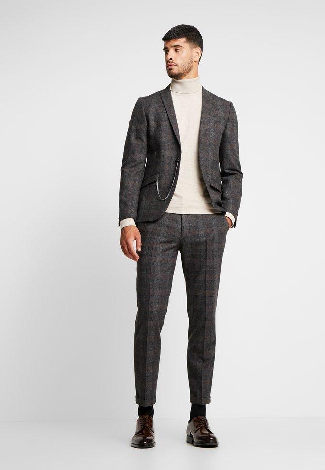 SHELDON SUIT - Suit - charcoal
