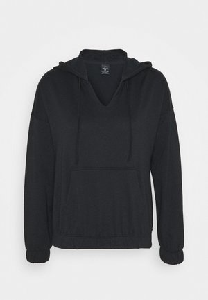 CORE COLLECTION COVERUP - Hoodie - black/smoke grey