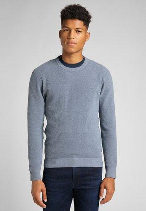 KNIT - Stickad tröja - vintage indigo