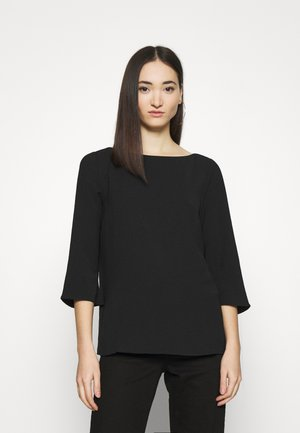 VIRASHA BOATNECK  - Blouse - black