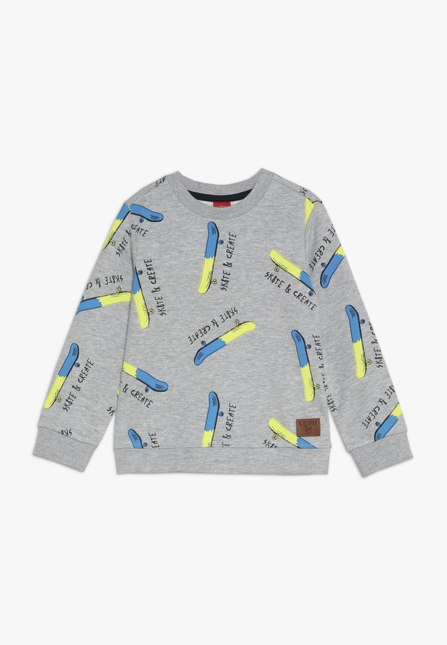 LANGARM - Sweatshirt - grey/black