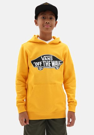 BY OTW PULLOVER FLEECE BOYS - Hoodie - saffron
