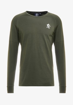 CORE PLUS LONG SLEEVE - Long sleeved top - forest/stone