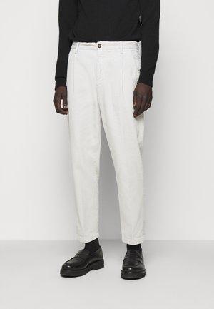 BOSTON - Trousers - grayness