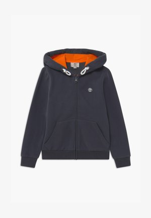 HOODED  - Mikina na zip - charcoal grey