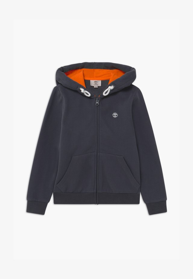 HOODED  - veste en sweat zippée - charcoal grey