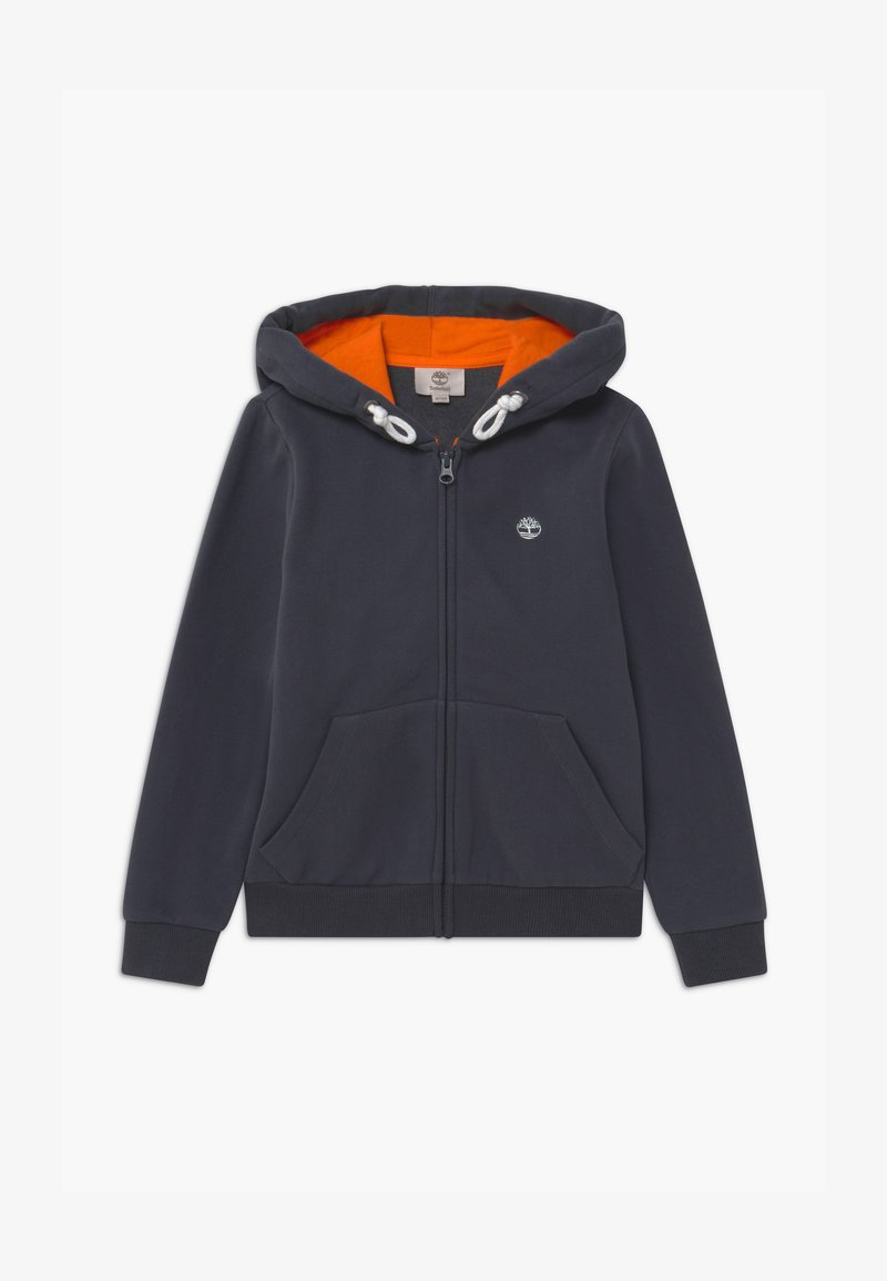 Timberland - HOODED  - Zip-up hoodie - charcoal grey