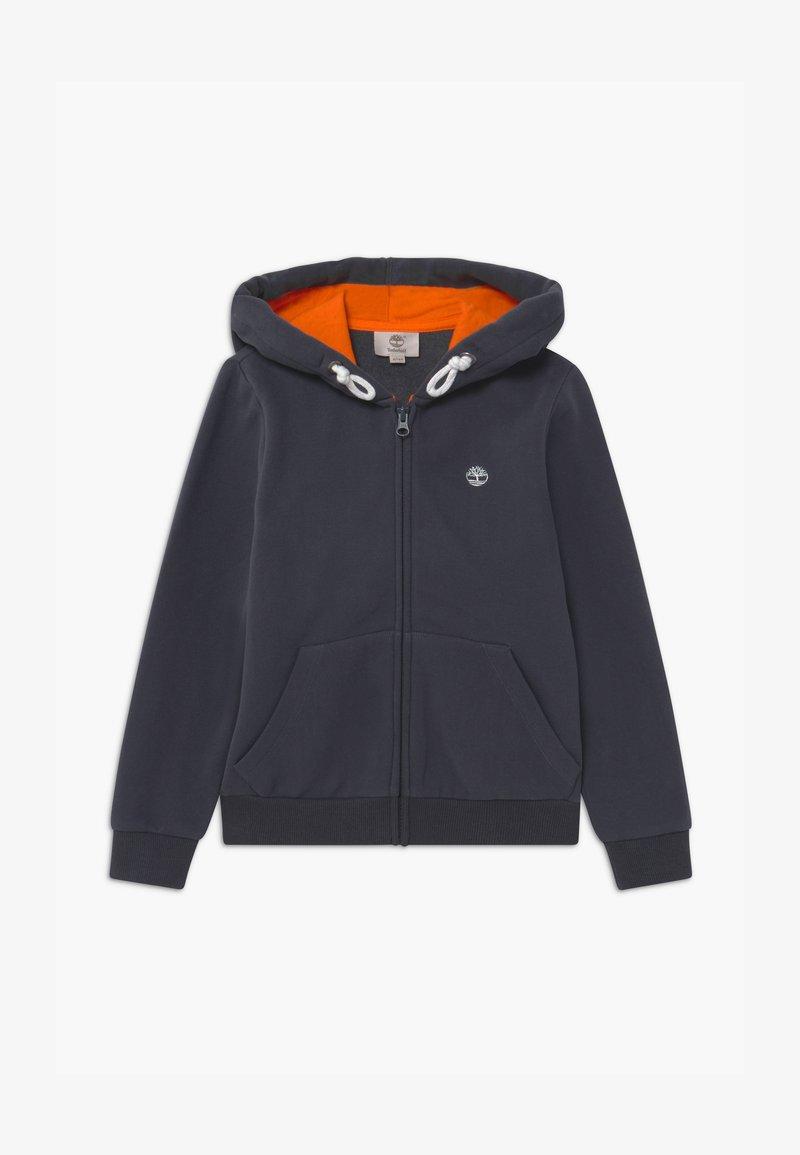 Timberland - HOODED  - Zip-up hoodie - charcoal grey