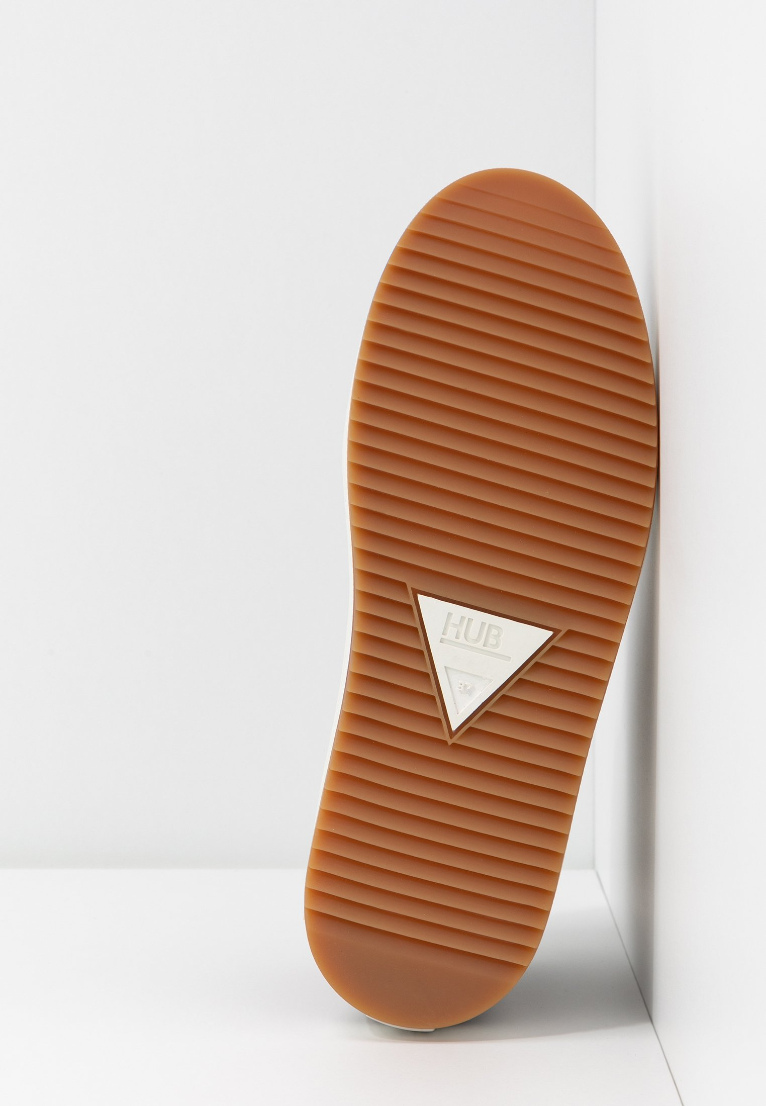 HUB RIDGE Ankle Boot dark brown/offwhite/dunkelbraun