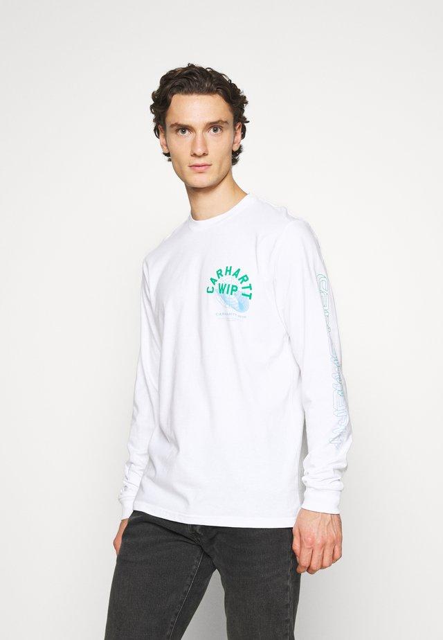 REMIX - T-shirt à manches longues - white