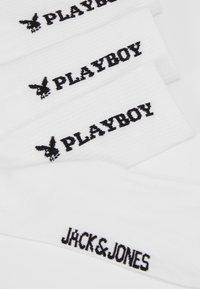 Jack & Jones - JACPLAYBOY TENNIS SLEEVE 3 PACK - Calcetines - white - 2