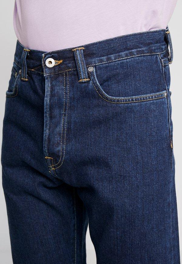 Edwin LOOSE TAPERED - Jeansy Relaxed Fit - dark blue denim/ciemnoniebieski Odzież Męska YOLL